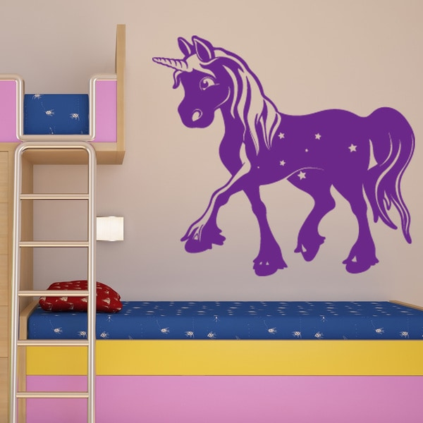 Shop Magic Unicorn Wall Decal On Sale Free Shipping