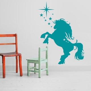 Jumping Horse Wall Decal