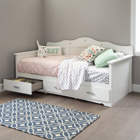 South Shore Tiara Twin Daybed with Storage