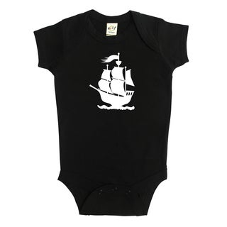 Rocket Bug Pirate Ship Baby Bodysuit