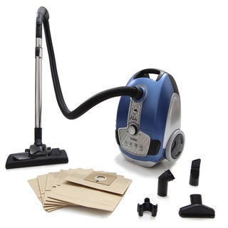 Prolux Tritan Canister Vacuum HEPA Sealed Hard Floor Vacuum with 12 Amp Motor