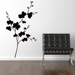 Orchids Floral Wall Decal