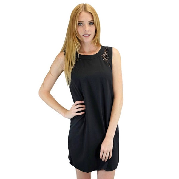 Relished Women's Dainty Dara Black Lace Dress