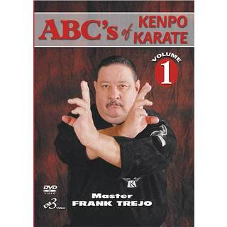 ABCs Of Ed Parker Kenpo Karate #1 DVD Frank Trejo martial arts