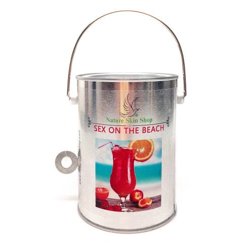 Handmade Sex on the Beach Soy Tin Can Candle