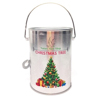 Christmas Tree Soy Tin Can Candle