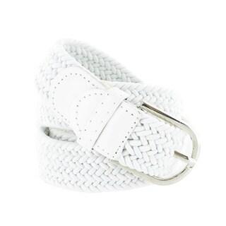 Faddism Unisex Braided Stretch Belt
