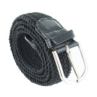 Faddism Unisex Braided Stretch Belt