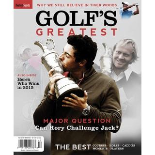 Golf's Greatest Golfers Beckett Special Edition Magazine Rory McIlroy Tiger Nicholas Palmer