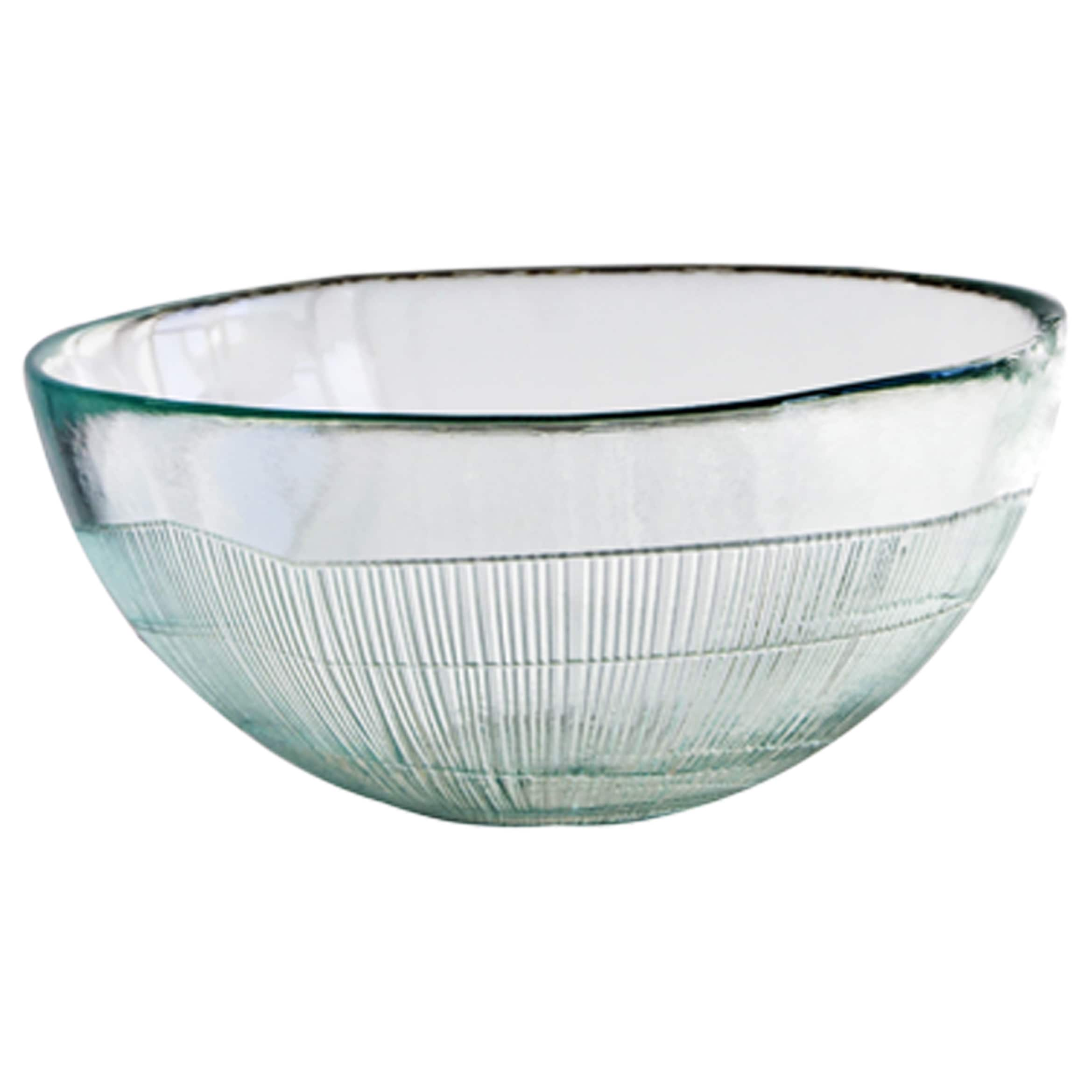 French Home Set of 4, 7-inch Ice Clear Birch Bowls (7-in....