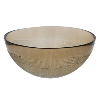 French Home Set of 4, 7-inch Mocha Birch Bowls