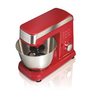 Hamilton Beach Red 3.5 Quart Planetary Stand Mixer