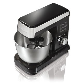 Hamilton Beach 63327 Black 6 Speed Stand Mixer
