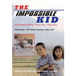 The Impossible Kid-#1 movie DVD weng weng martial arts