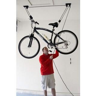 50 lb Capacity Hoists with AutoLock Mechanism (Pack of 2) - Black