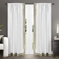 ATI Home Grammercy Window Curtain Panel Pair with Rod Pocket