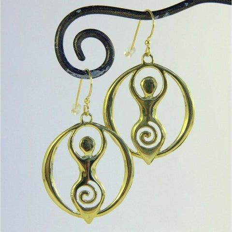 Handmade Goddess Earrings by Spirit (Indonesia)