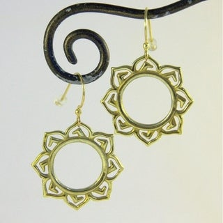 Lotus Flower Earrings by Spirit Tribal Fusion (Bali)