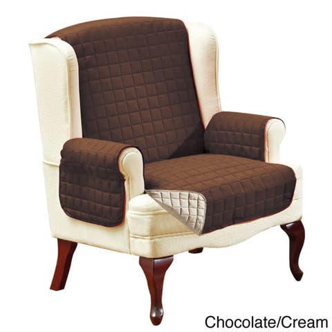 Elegant Comfort Quilted Reversible Furniture Protector