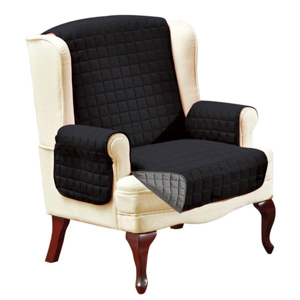 Chair Furniture Protector elegant comfort quilted reversible furniture protector - free