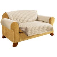Elegant Comfort Quilted Reversible Loveseat Protector
