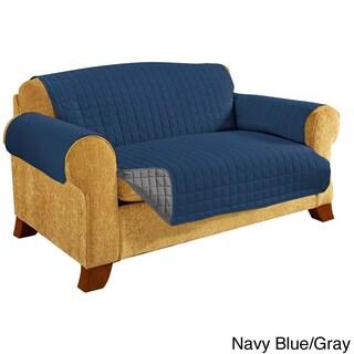 Elegant Comfort Quilted Reversible Sofa Protector