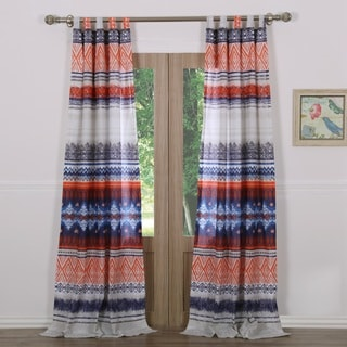 Greenland Home Fashions Urban Boho Curtain Panel Pair