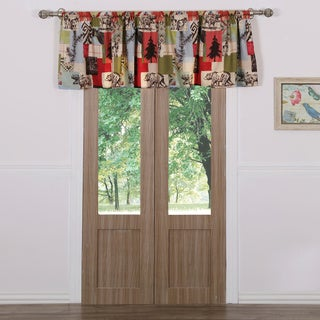 Greenland Home Fashions Rustic Lodge Window Valance