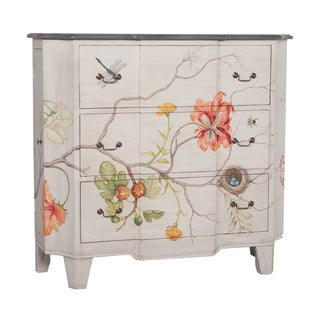 Devon Vintage Floral 3-drawer Chest