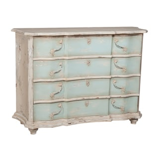 Small Blue Duchess 4-drawer Chest