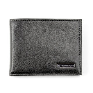 Tommy Hilfiger Men's Billfold Genuine Leather Wallet