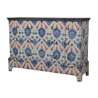 Basil Blue 9-drawer Cottage Chest