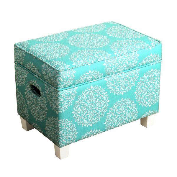 HomePop Medium Storage Ottoman - HomePop Medium Storage Ottoman - Free Shipping Today - Overstock