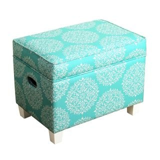 HomePop Medium Storage Ottoman