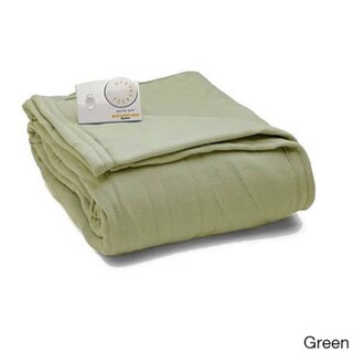 Biddeford Comfort Knit Fleece Heated Blanket with Analog Control