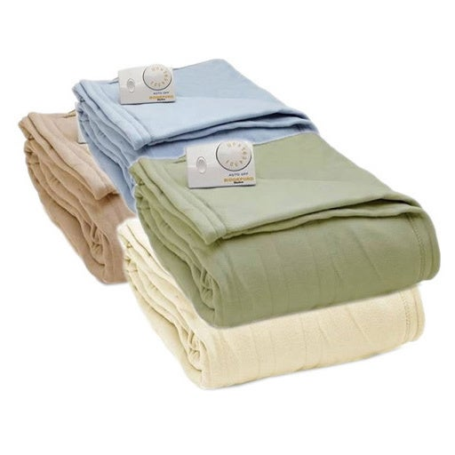 Biddeford Comfort Knit Fleece Heated Blanket with Analog Control