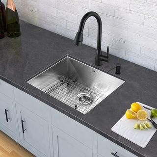Black Stainless Steel Sink Faucet Sets For Less Overstock