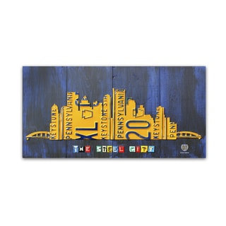 Design Turnpike 'Pittsburgh Skyline' Canvas Wall Art