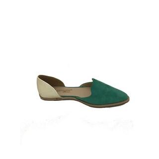 Nichole Simpson Women's Suede Flat Shoes