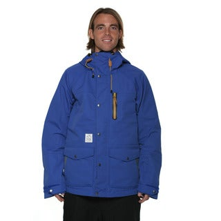 Billabong Men's Blue Tadashi Fuse Chore 20k snowboard Jacket