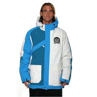 Billabong Men's Blue Sorient 10k Scotty Lago signature series snowboard Jacket
