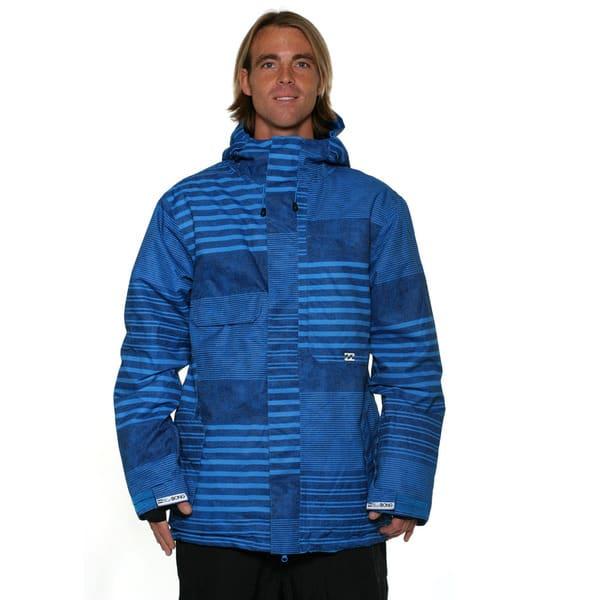 online store 4e730 1e87c Shop Billabong Men's Blue Aved 15k Snowboard Jacket - Free ...