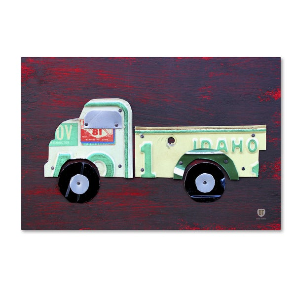 Design Turnpike 'Pickup Truck' Canvas Wall Art
