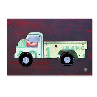 Design Turnpike 'Pickup Truck' Canvas Wall Art