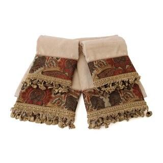 Sherry Kline Rosabella 4-piece Decorative Embellished Towel Set