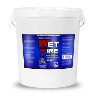 Wet Tire High Gloss Tire Shine-Tire Dressing and Protectant, 5 Gallon