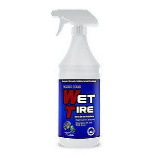 Wet Tire - High Gloss Tire Shine - Tire Dressing and Protectant, 32oz