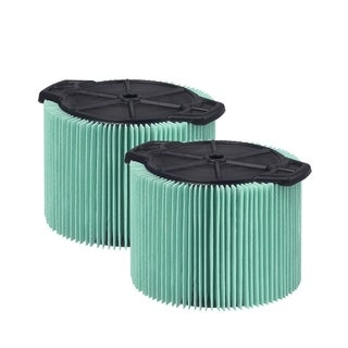Workshop Wet/Dry Vacs WS13045F HEPA Media Cartridge Filter (2-pack)