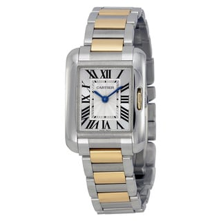Cartier Women's W5310046 Tank Anglaise Silver Watch