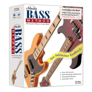 eMedia Bass Method / EarMaster Bundle with Bonus PitchBoy Tuner